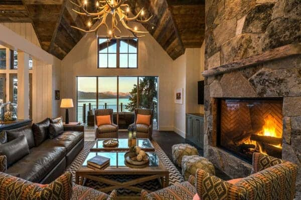 featured posts image for Beautiful rustic lakefront home tucked away on the shores of Lake Tahoe