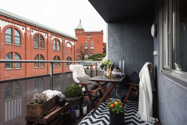 featured posts image for 33 Incredibly inspiring Scandinavian style outdoor balcony ideas