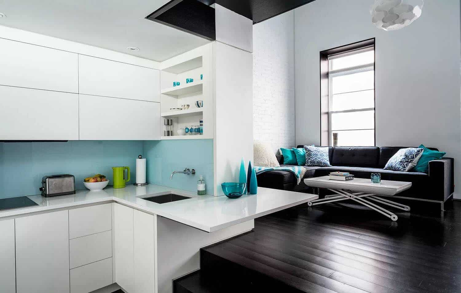 Coolest tiny brownstone apartment on the Upper West Side, New York