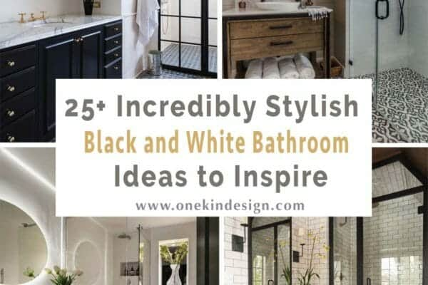 featured posts image for 25+ Incredibly stylish black and white bathroom ideas to inspire