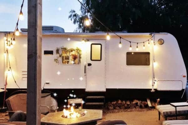 featured posts image for Living the simple life in a fully renovated 120 square foot camper