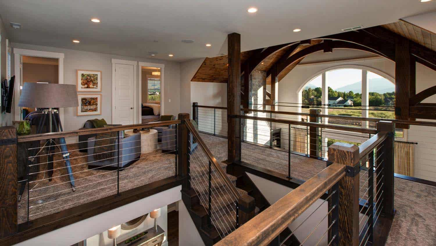 transitional-staircase-landing