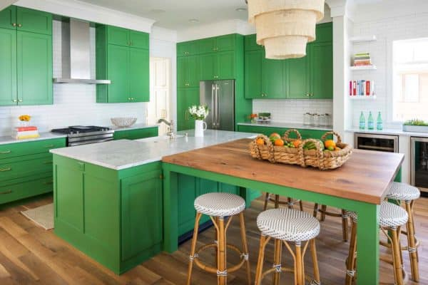 featured posts image for Minnesota home showcases beach style with playful pops of color