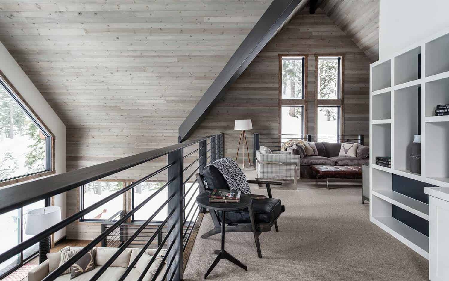 Dated A Frame Mountain Cabin In Lake Tahoe Gets Fabulous Transformation