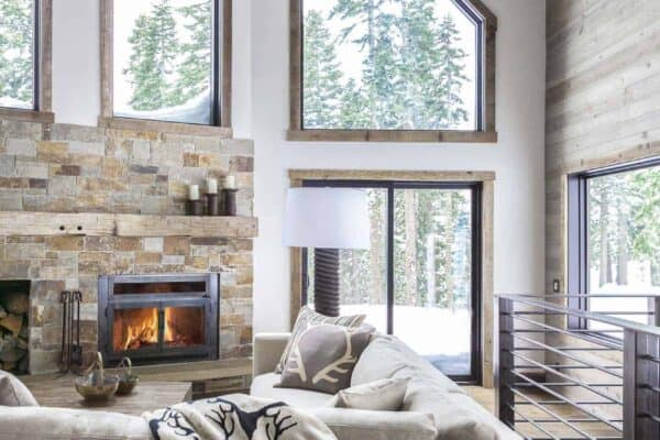 featured posts image for Dated A-frame mountain cabin in Lake Tahoe gets fabulous transformation