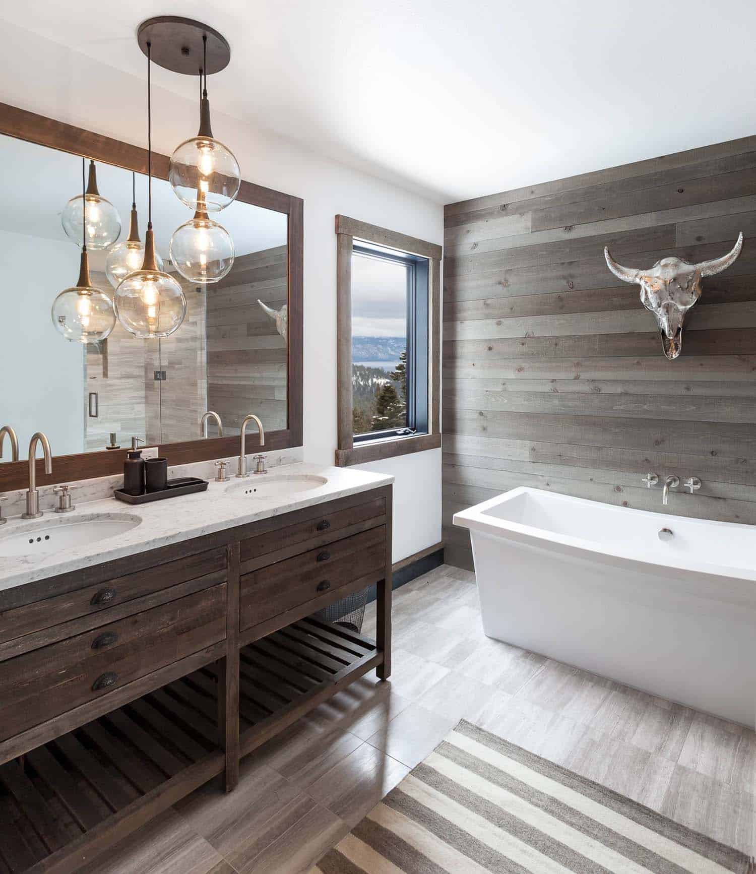 mountain-cabin-contemporary-bathroom