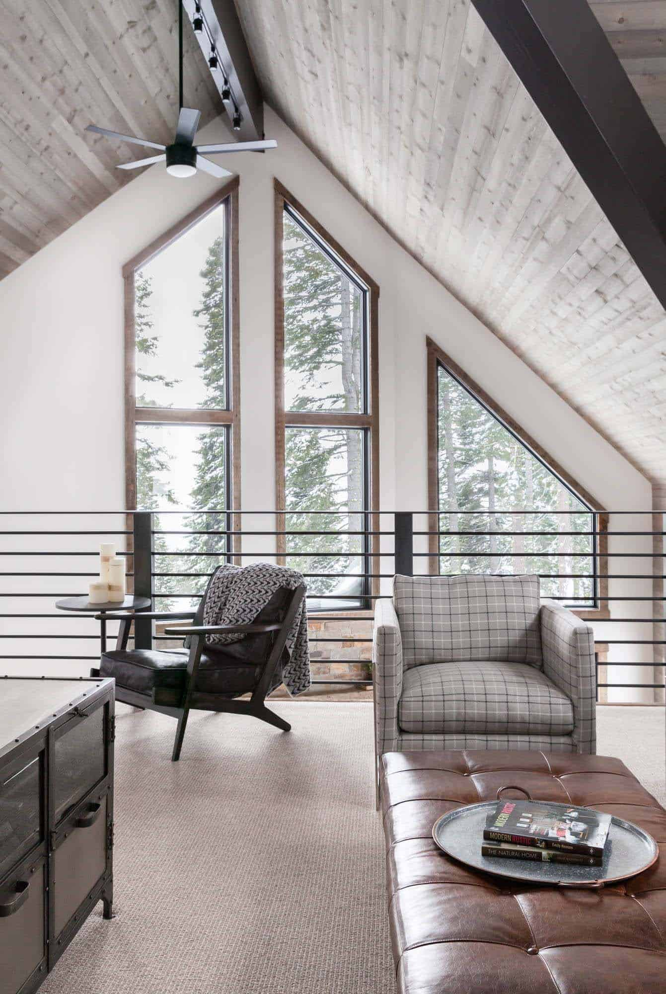 mountain-cabin-contemporary-family-room