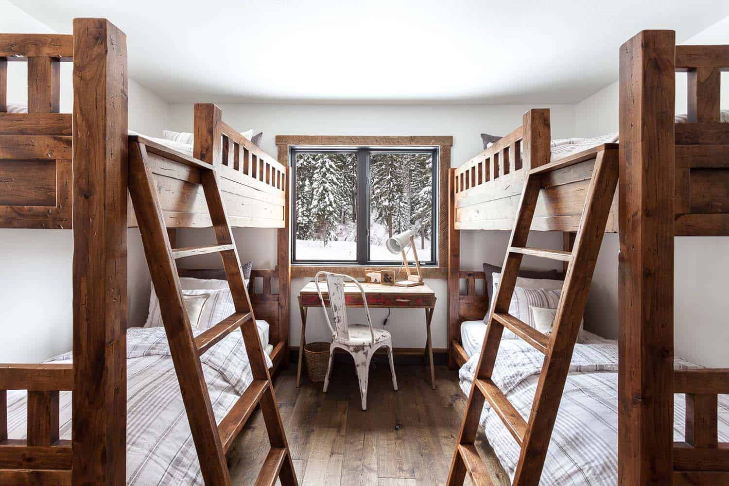 mountain-cabin-contemporary-kids-bunk-room