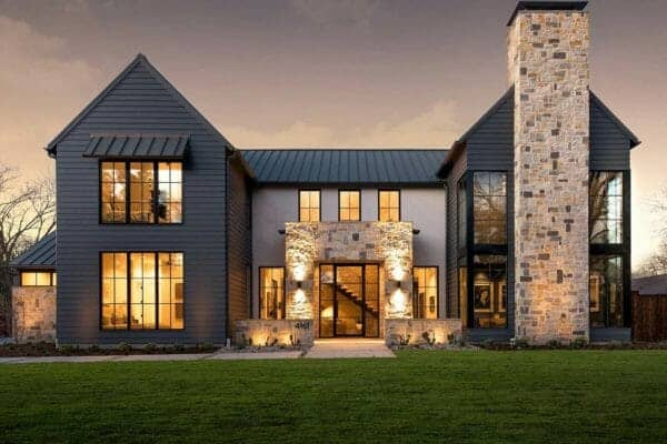 featured posts image for Modern Italian farmhouse showcases stunning interior details in Dallas