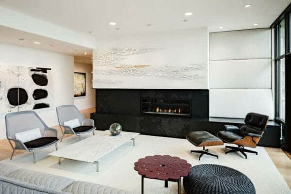 featured posts image for Striking modern penthouse in Portland showcases sophisticated living spaces