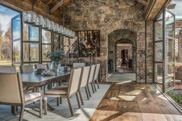 featured posts image for Ranch house features medieval-inspired craftsmanship in Jackson Hole