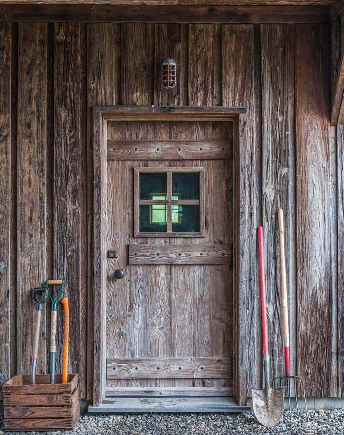 rustic-entry