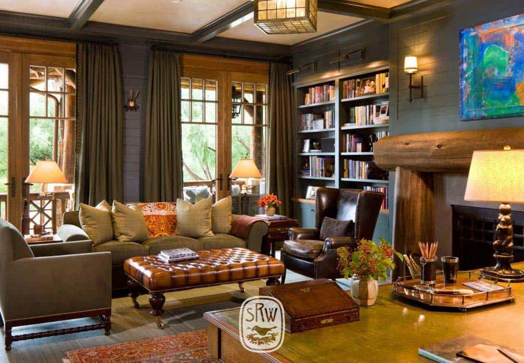 rustic-library