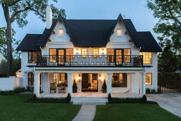 featured posts image for Historic Tudor-style home in Houston gets a bold modern transformation