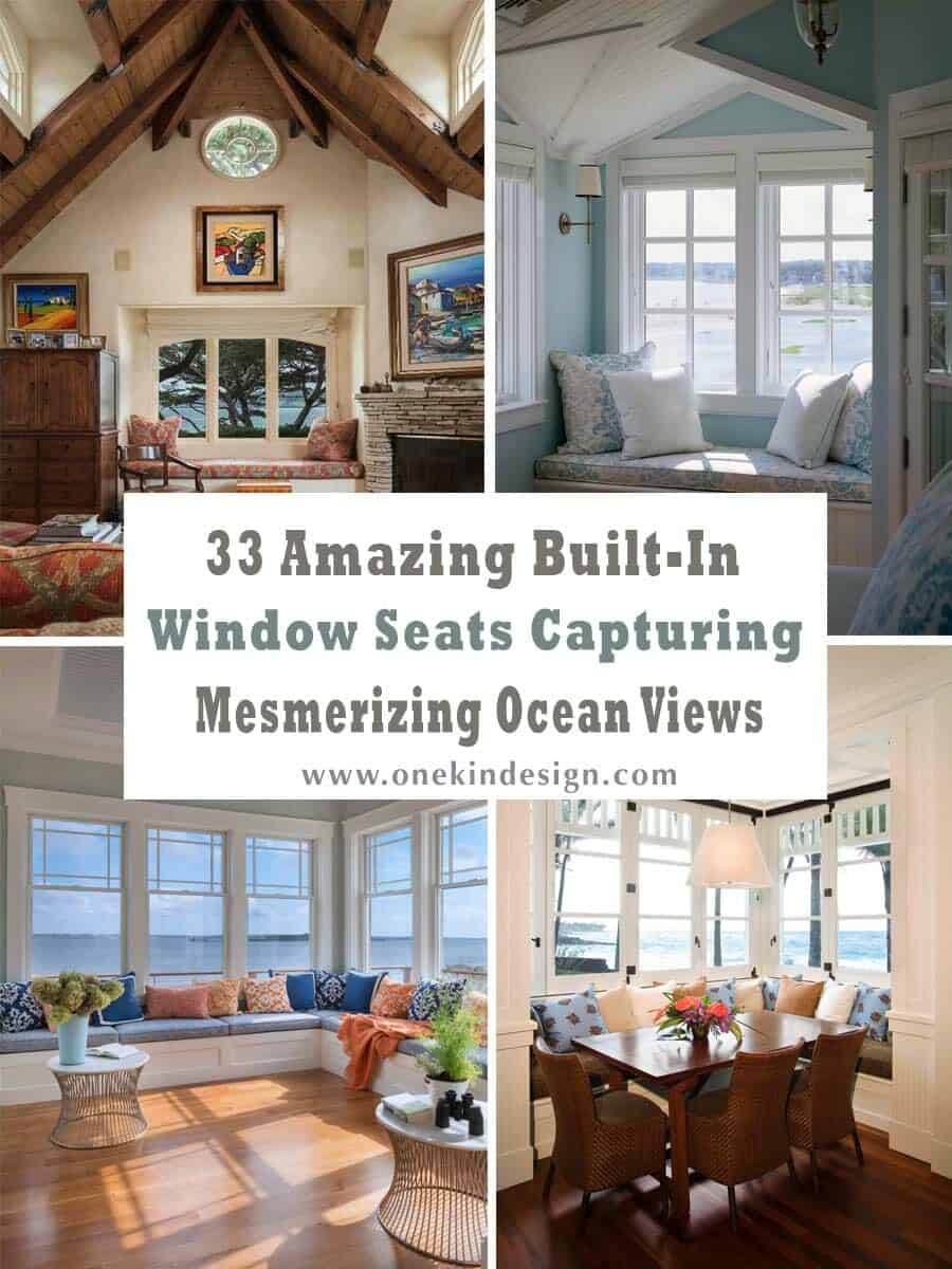 Astonishing 33 Amazing Built In Window Seats Capturing Mesmerizing Ocean Unemploymentrelief Wooden Chair Designs For Living Room Unemploymentrelieforg