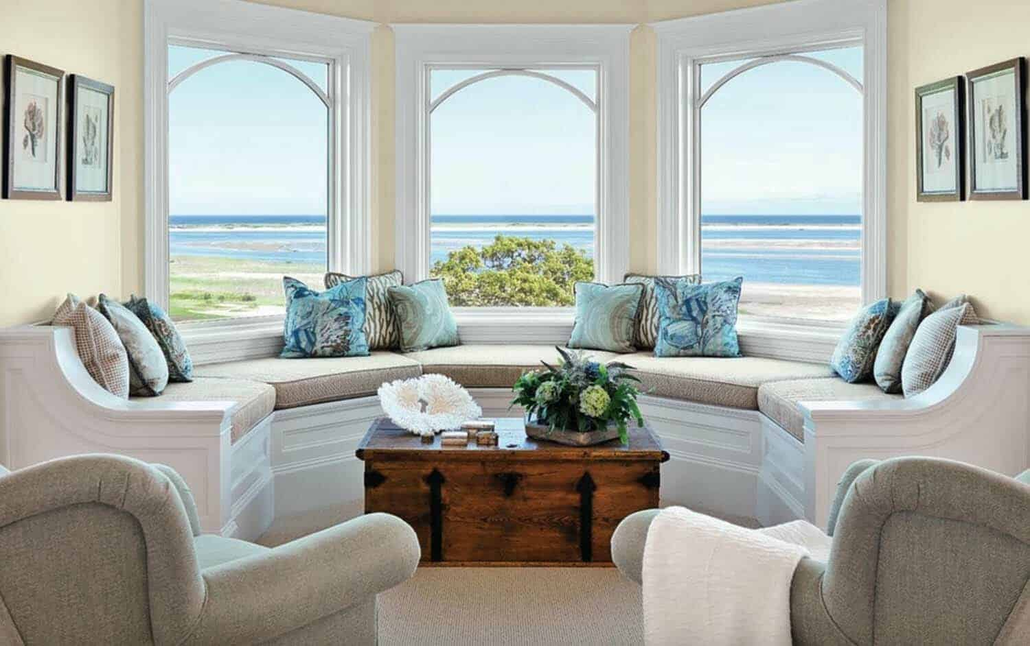 Excellent 33 Amazing Built In Window Seats Capturing Mesmerizing Ocean Unemploymentrelief Wooden Chair Designs For Living Room Unemploymentrelieforg