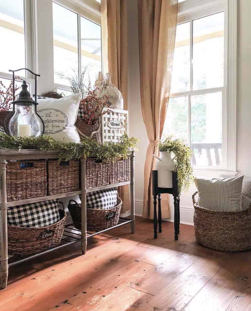 Console-Table-Fall Decor-Ideas