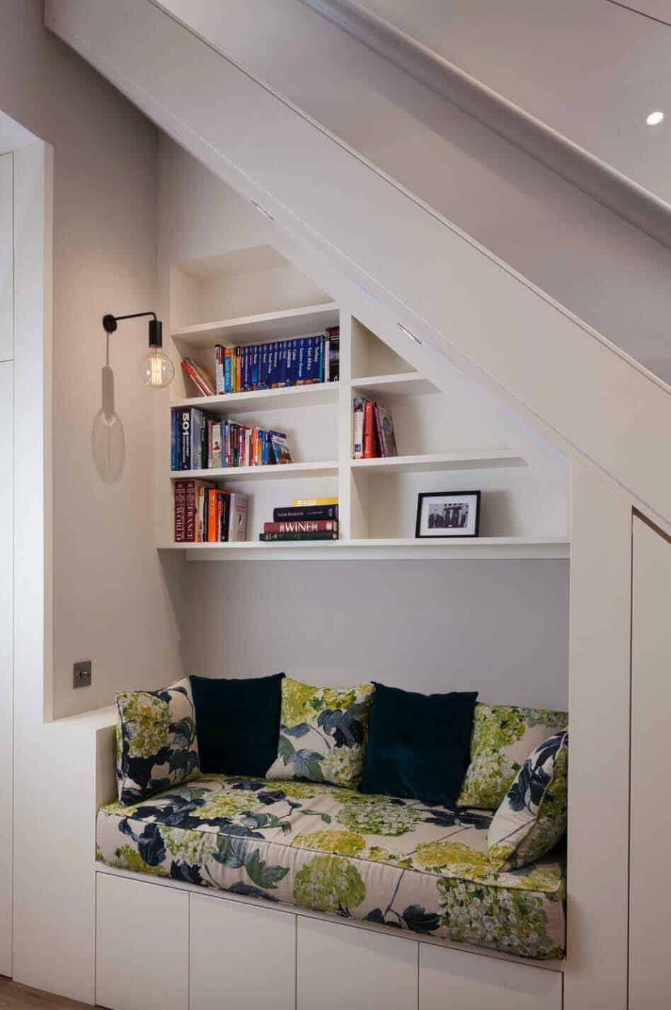 basement-book-nook-under-stairs