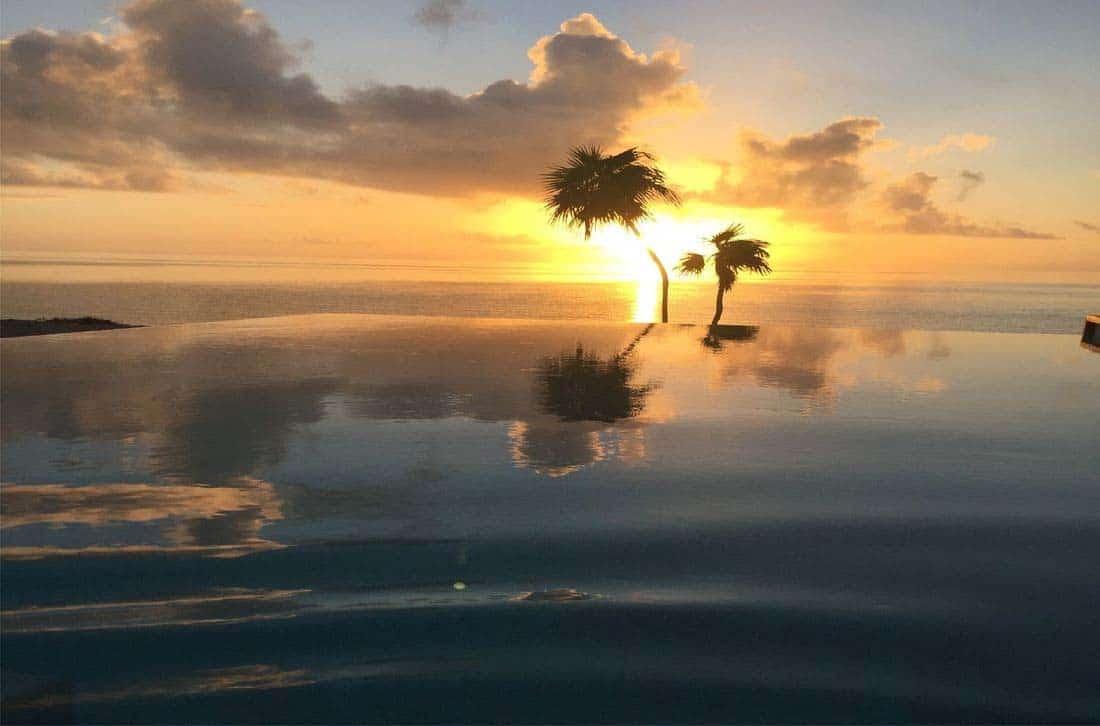 oceanfront-villa-pool-sunset