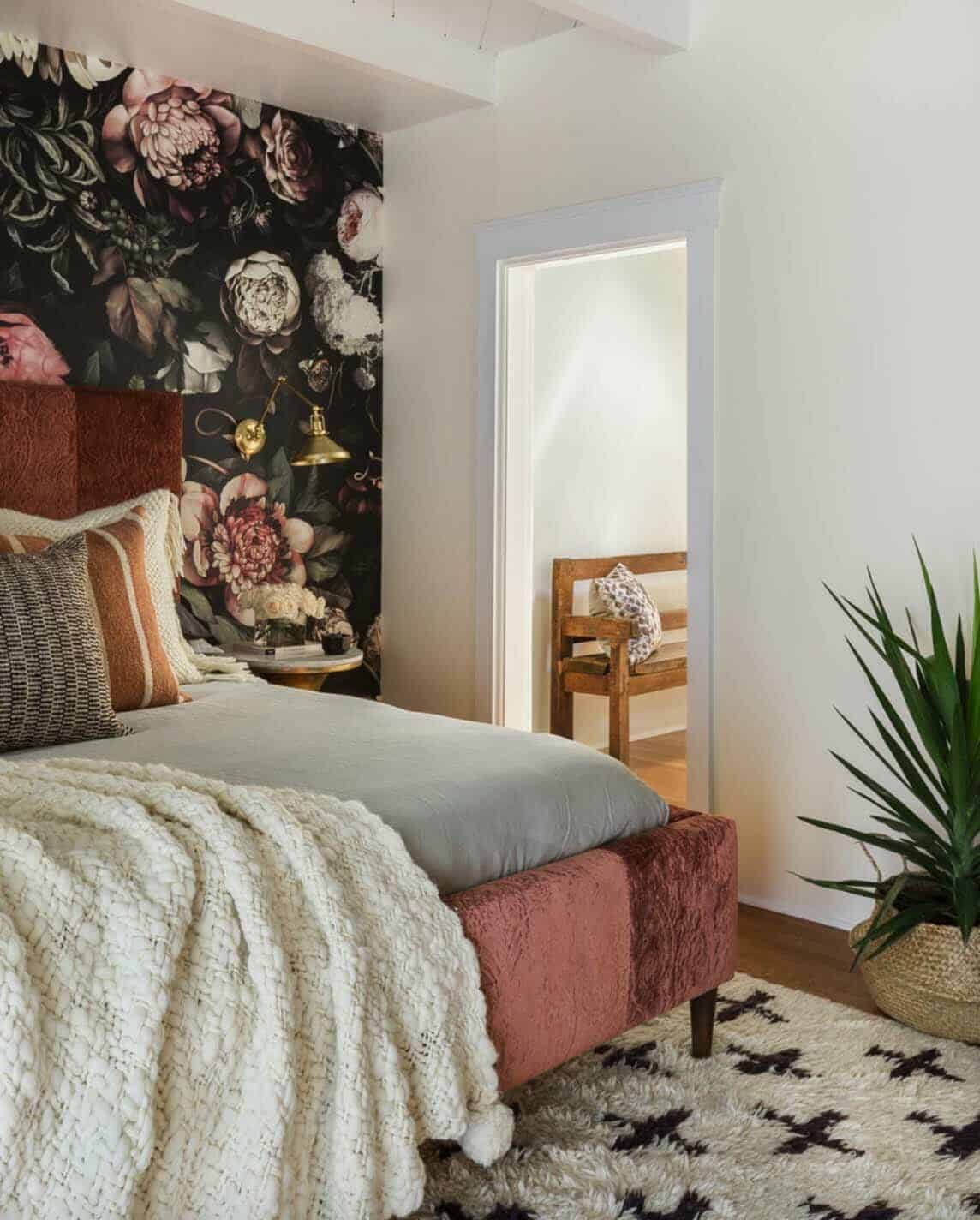 Terracotta Bedroom Designs: Alluring Modern-eclectic Home With Playful Interiors In
