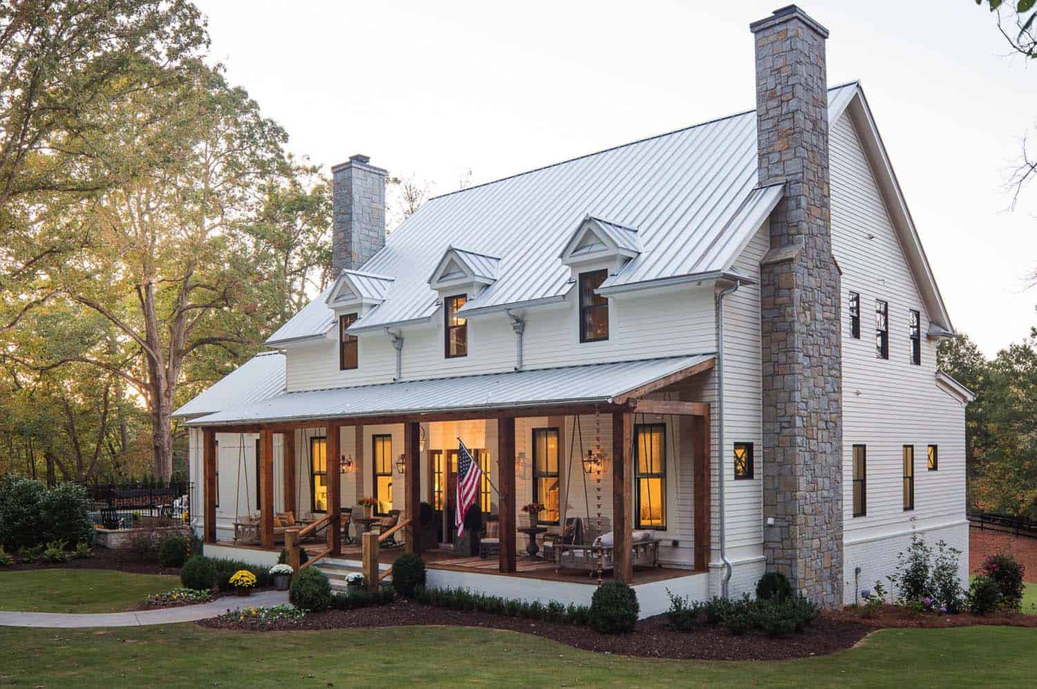 Modern Farmhouse Architecture Design