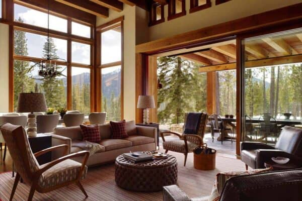 featured posts image for Delightful modern mountain cabin getaway in picturesque Martis Camp