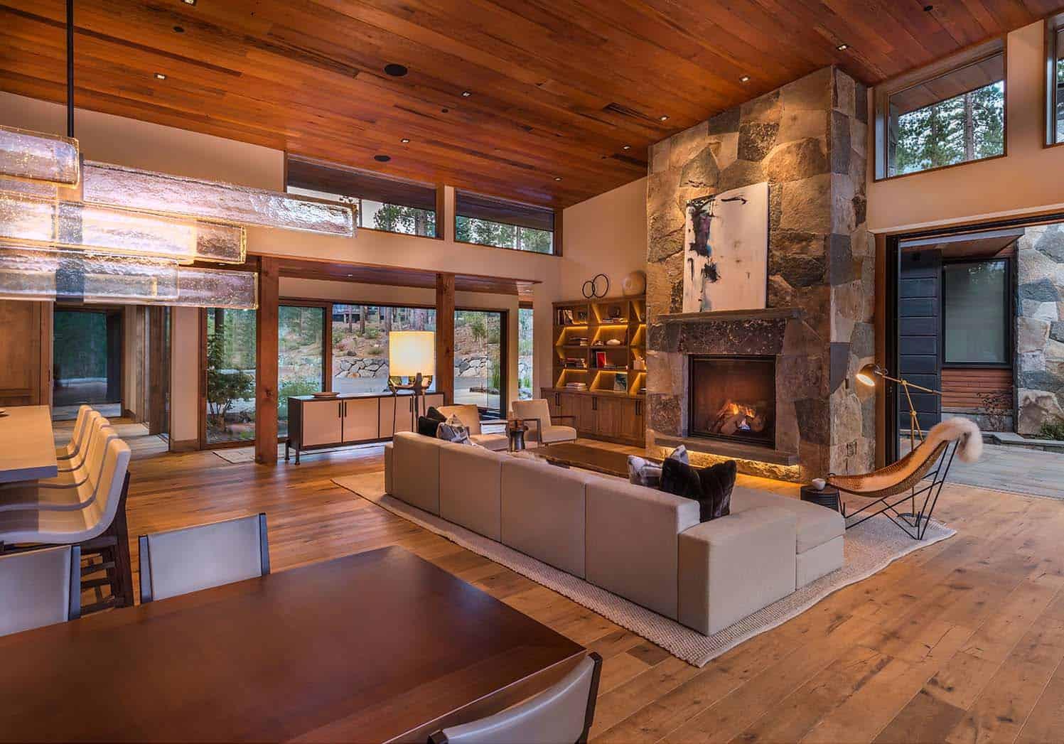 modern home celebrates indooroutdoor living in sierra