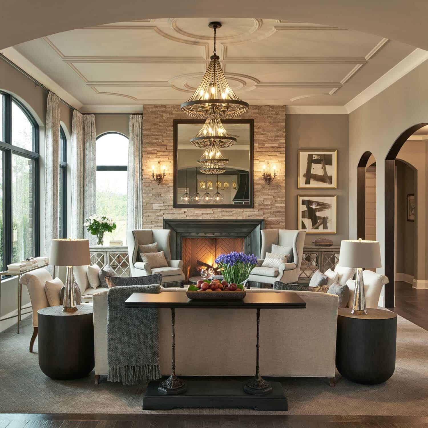 home design contents restoration restoration hardware styled model home with gorgeous interiors in michigan 8584