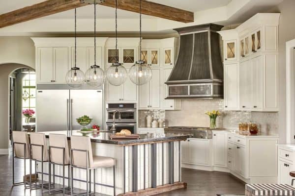 featured posts image for Restoration Hardware styled model home with gorgeous interiors in Michigan