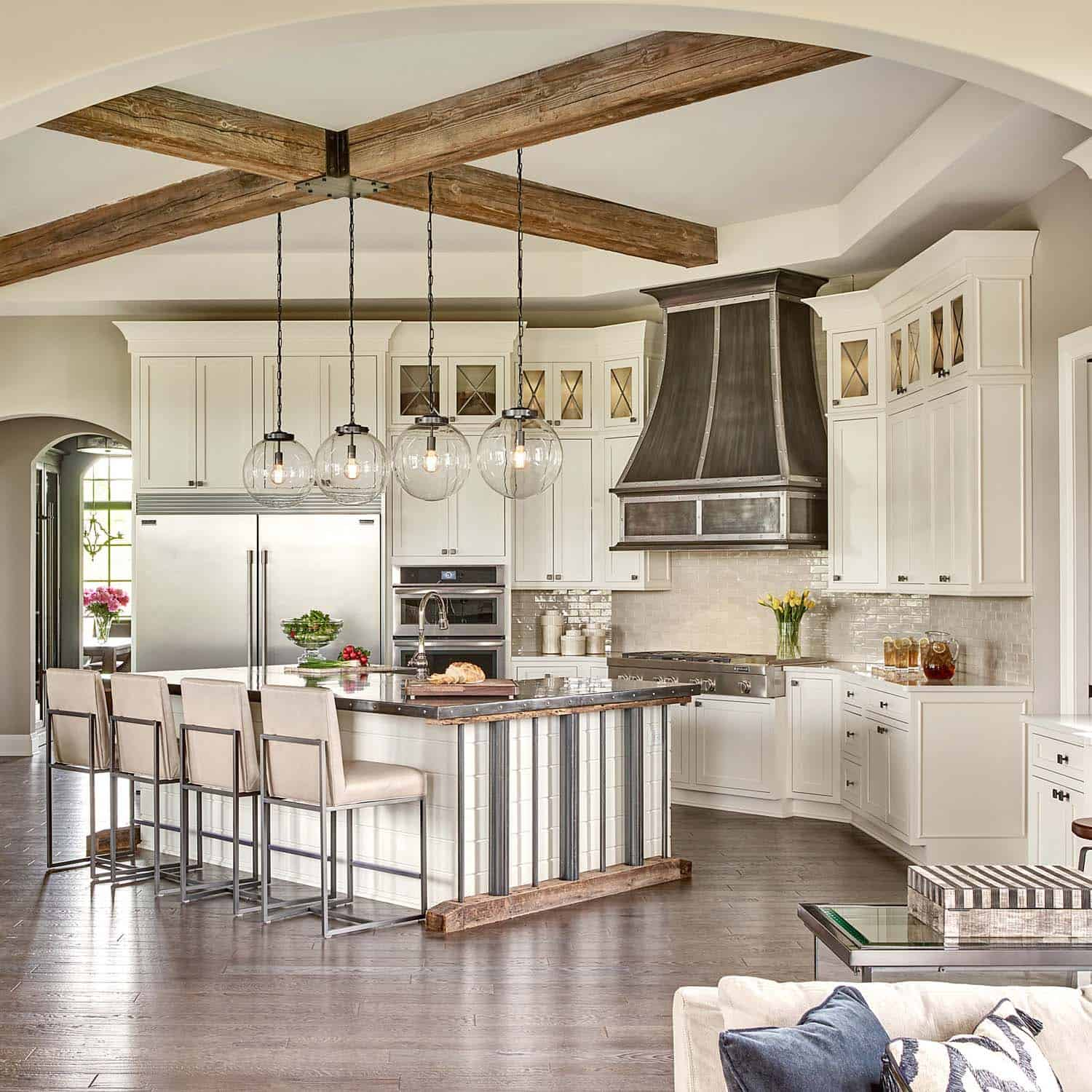 Home Interior Lighting: Restoration Hardware Styled Model Home With Gorgeous
