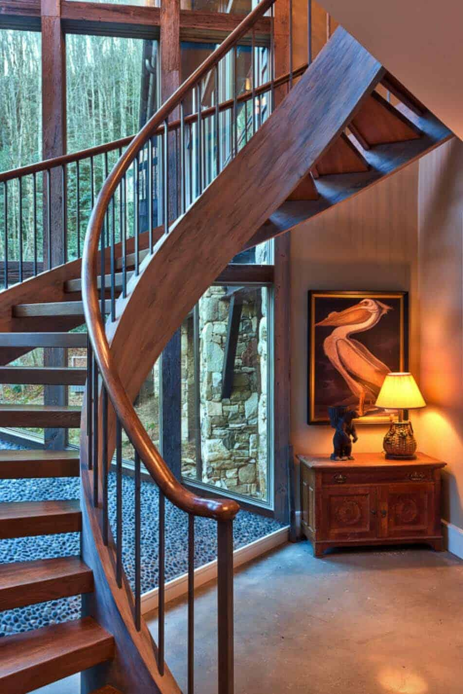 bridge-house-rustic-staircase