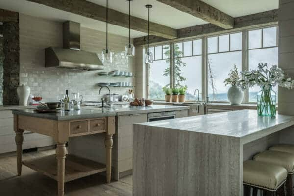featured posts image for Stone and timber mountain dream house showcases Big Sky views