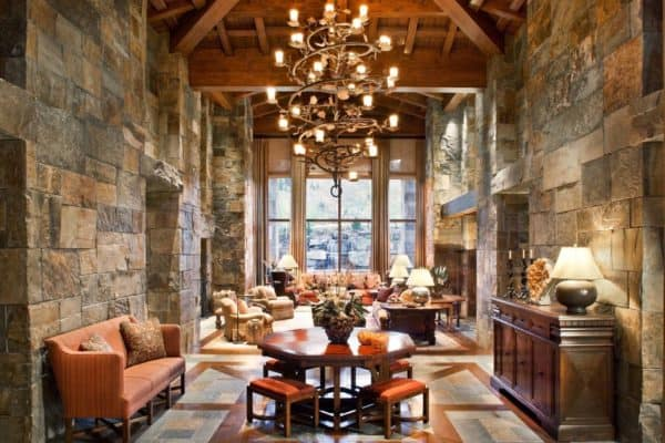 featured posts image for Sumptuous mountain lodge getaway in Idaho evokes inviting atmosphere
