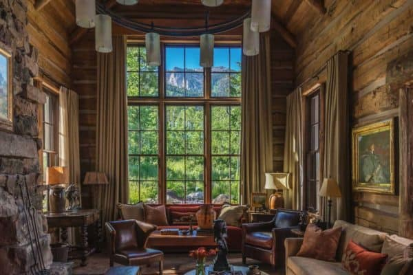 featured posts image for Beyond beautiful rustic mountain home with fabulous views of the Tetons