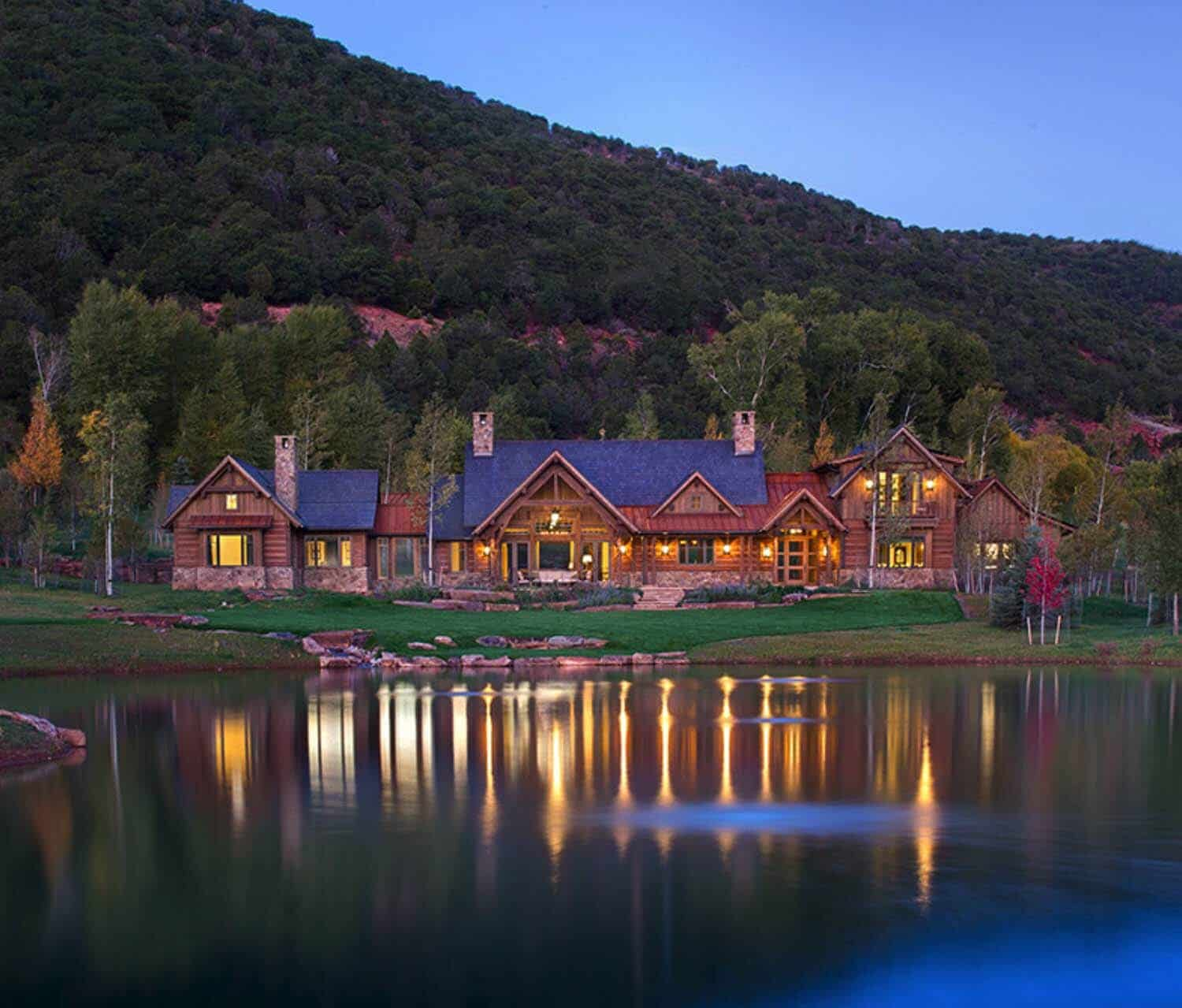 Rustic Ranch Interior Design: Inspiring Ranch Home Nestled In The Heart Of Roaring Fork