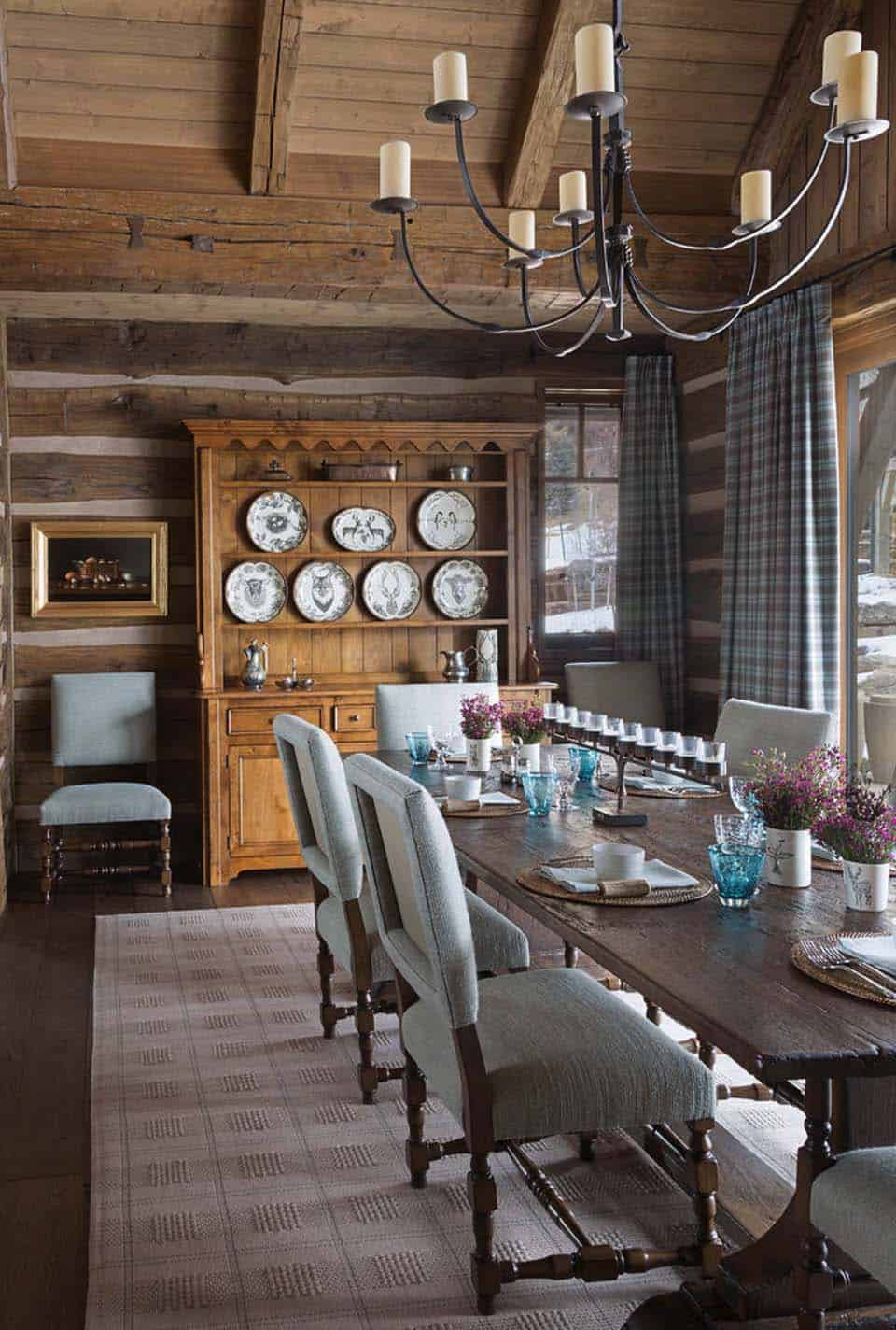 rustic-ranch-home-dining-room
