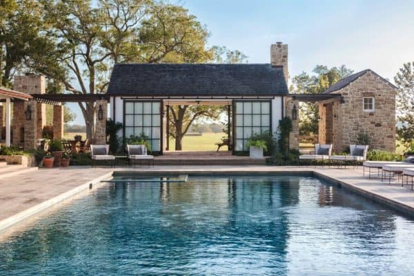 featured posts image for Farmhouse-inspired home with an understated country feel in Texas
