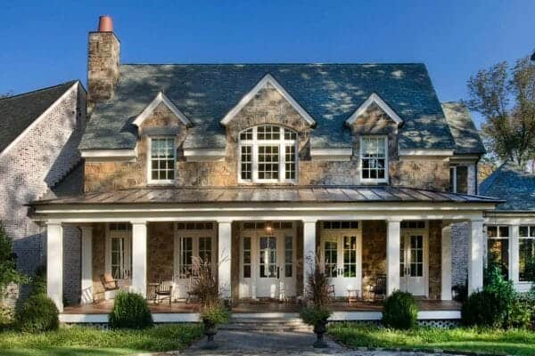 featured posts image for Gorgeous stone residence in Nashville offers a timeless design style