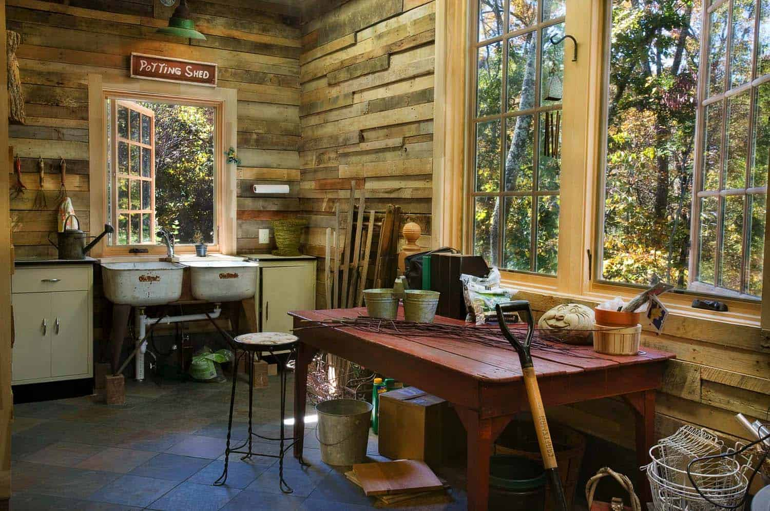 rustic-potting-shed
