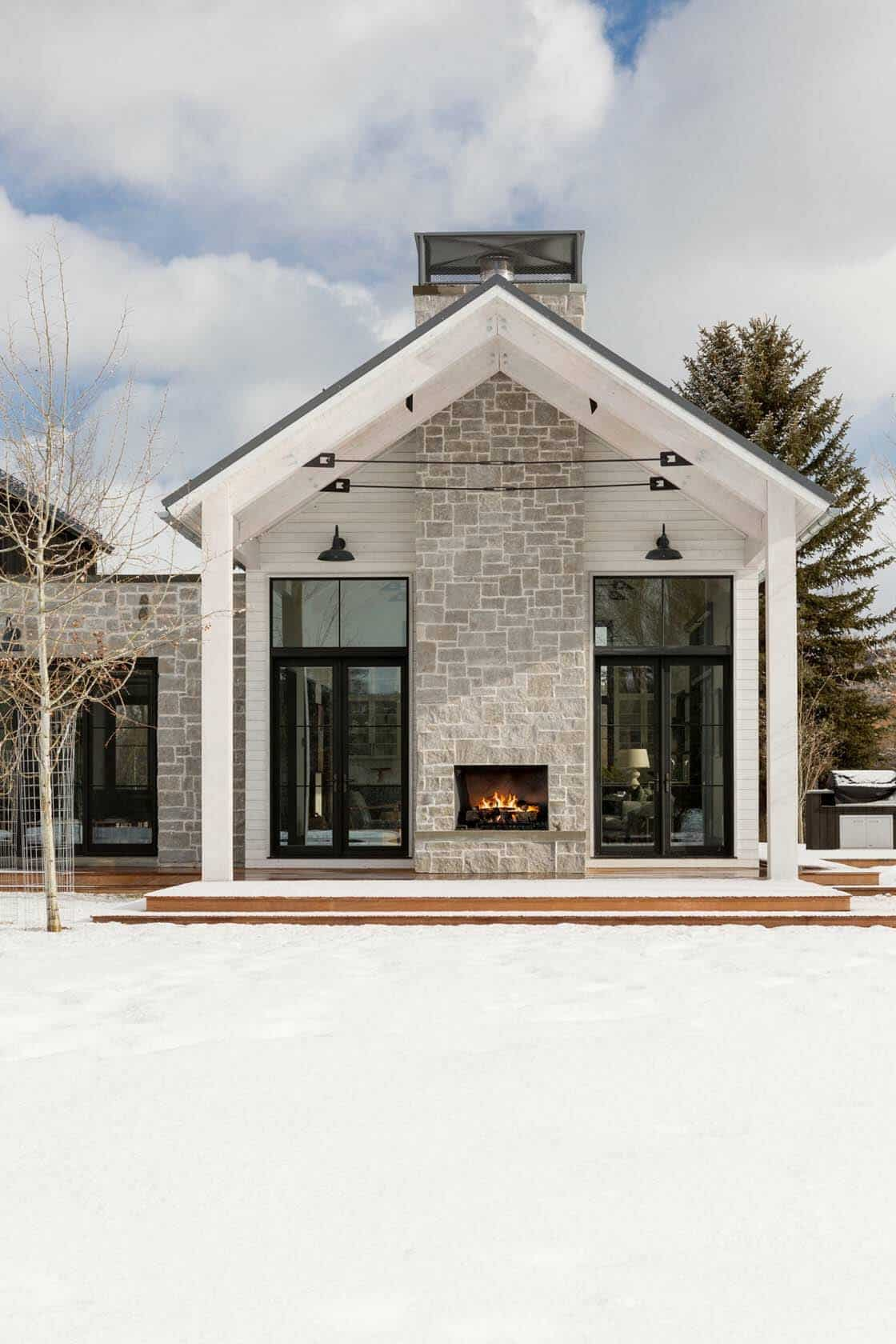farmhouse style house modern farmhouse inspired home with dramatic views of the grand tetons 6312