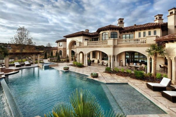 featured posts image for Texas residence offers a stunning display of Italian elegance