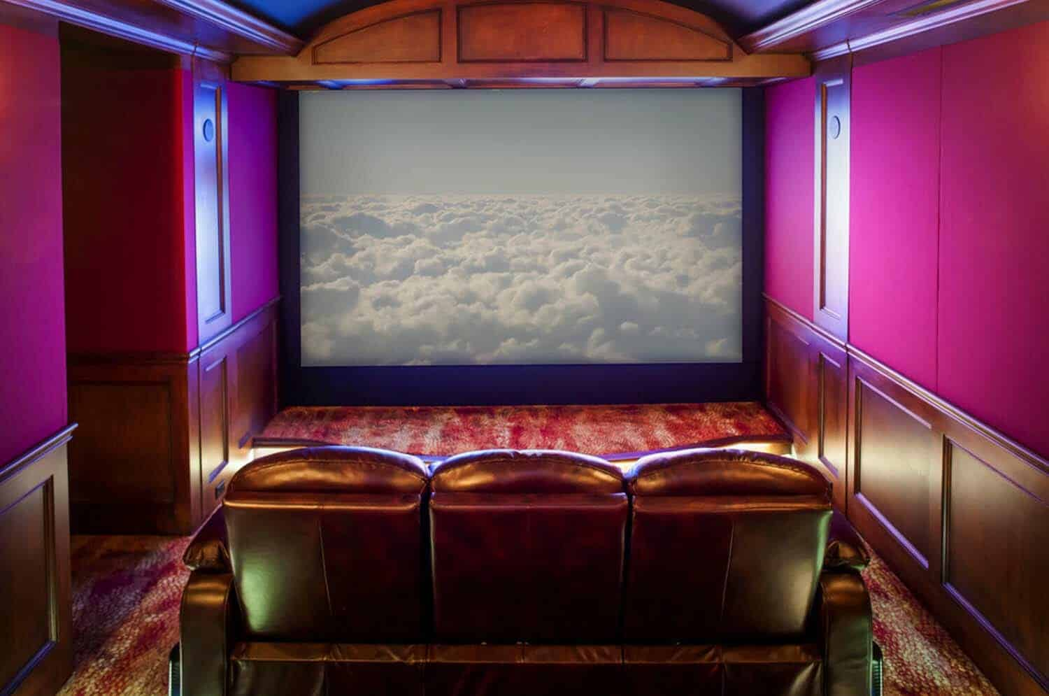 transitional-home-theater