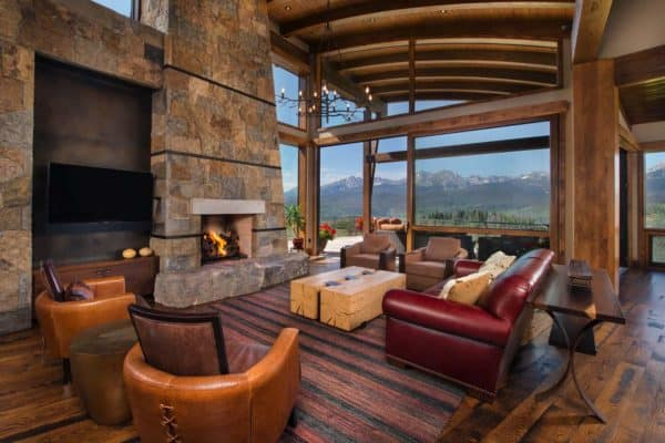 featured posts image for Craftsman style home features dramatic backdrop of the Rocky Mountains