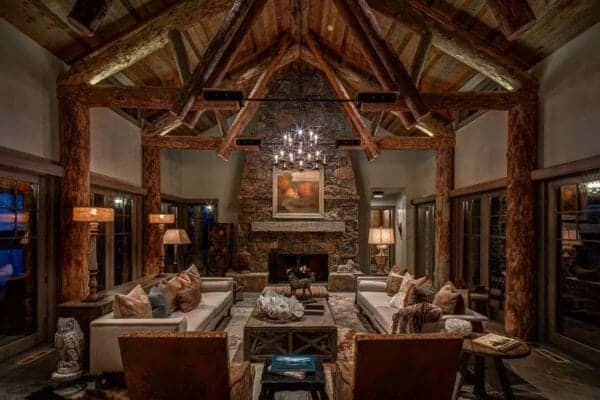featured posts image for Dreamy Utah mountain retreat boasting rustic yet elegant atmosphere