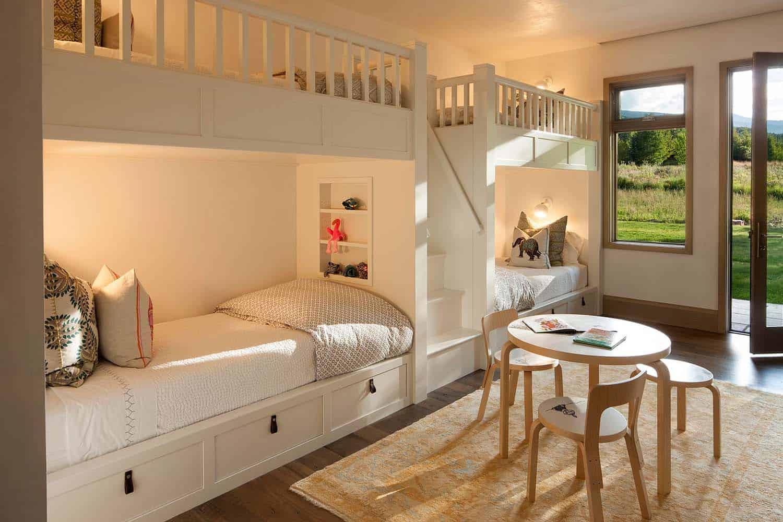 contemporary-kids-bunk-bedroom