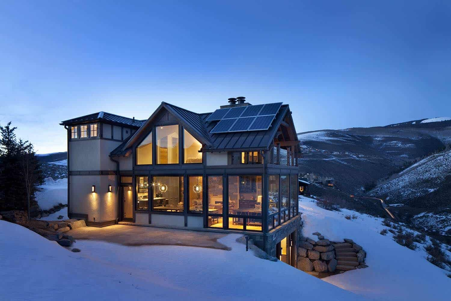 Colorado dream home showcases mountain contemporary living for Colorado dream home