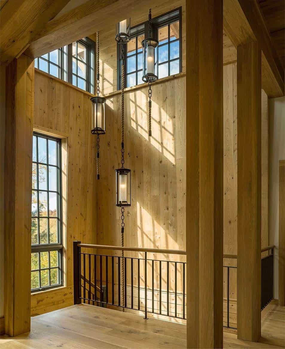 contemporary-mountain-home-staircase-landing