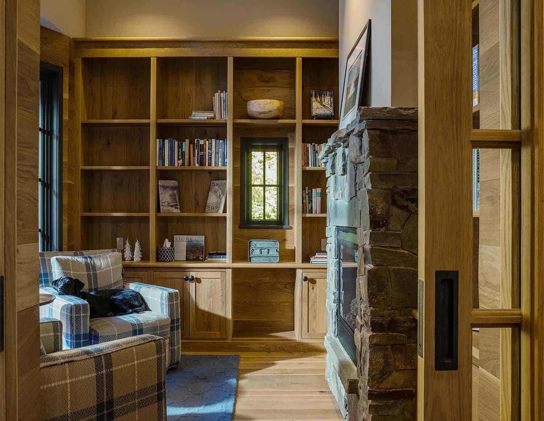 contemporary-mountain-home-library