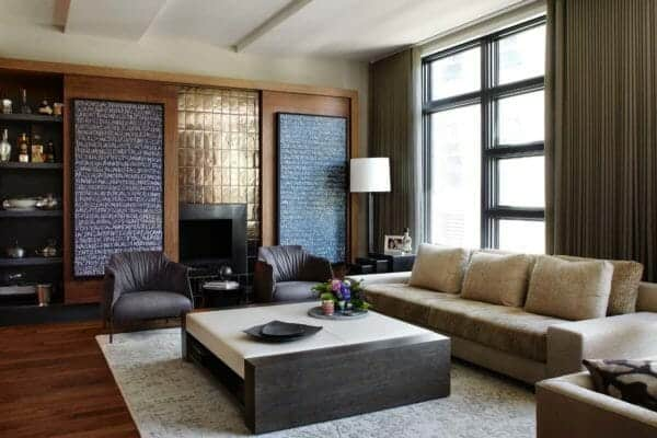 featured posts image for Multi-level townhouse in Chicago showcases urban-chic interiors