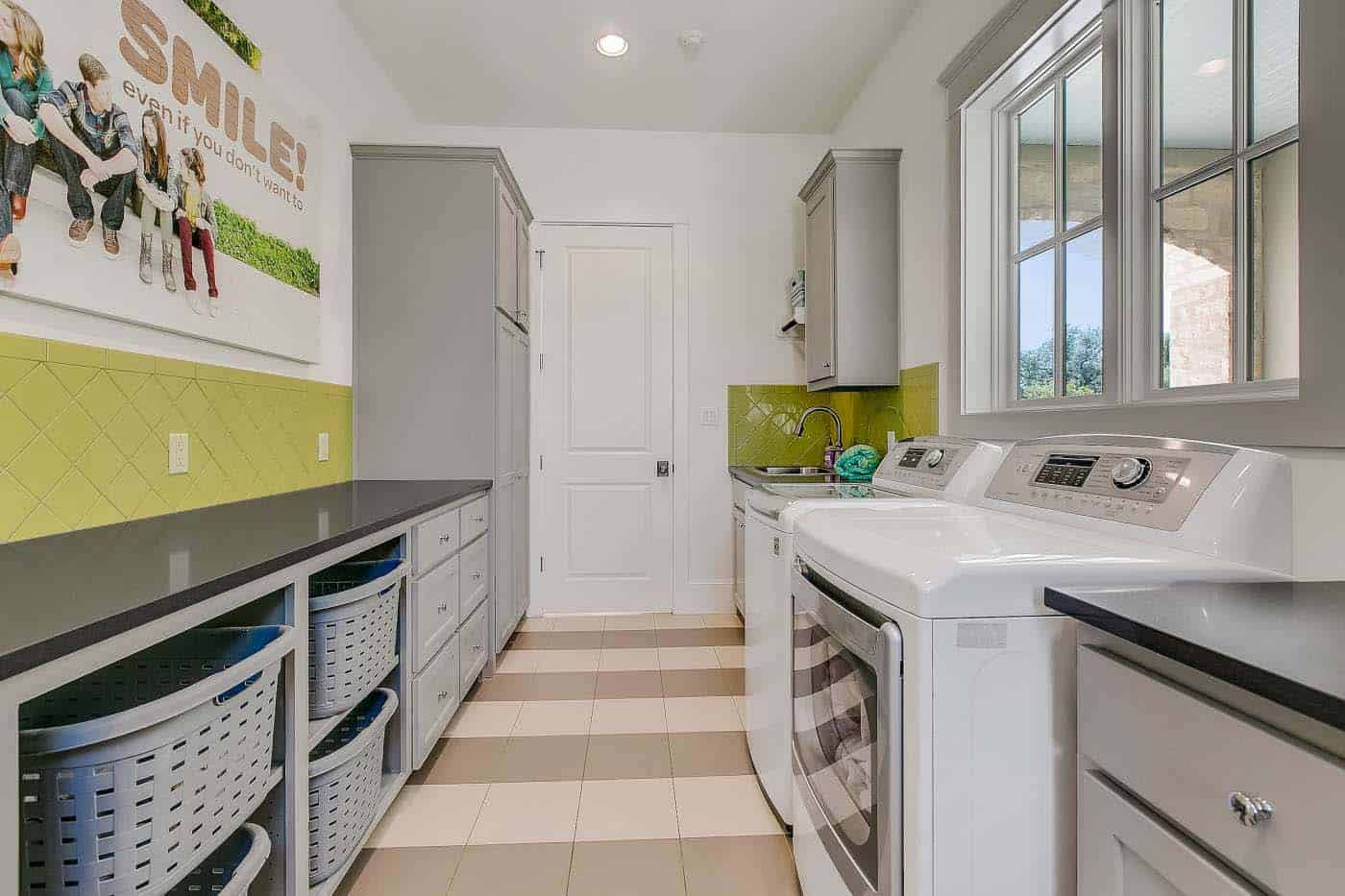 french-country-transitional-laundry-room